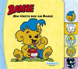 Bamse - Min första bok