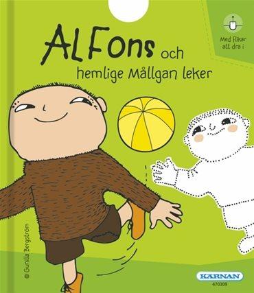 Alfons & hemliga Mållgan leker