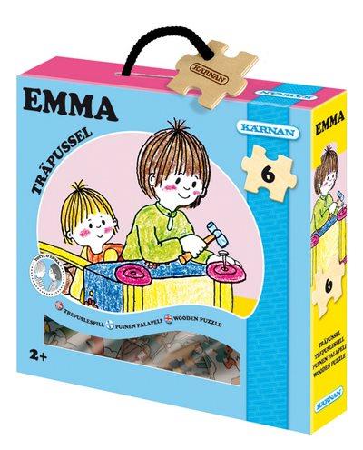 Emma pussel - 6 bitar