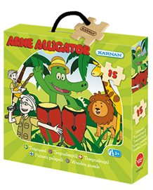Arne Alligator pussel