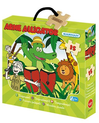 Arne Alligator pussel