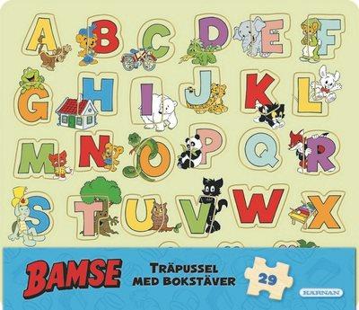 Rampussel - Bamse Bokstäver