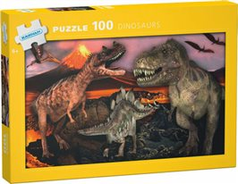 Dinosaurs: 100 bitar pussel