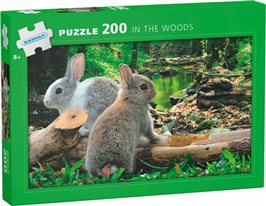 In the woods: 200 bitar pussel