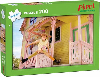 Pippi Långstrump pussel - 200 bitar