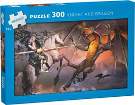 Knight & dragon: 300 bitar pussel