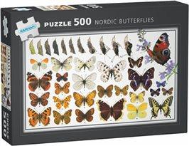 Butterflies: 500 bitar pussel