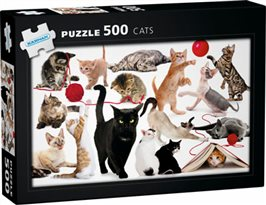 Cats: 500 bitar pussel
