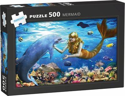Pussel - Mermaids 500 bitar