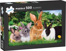 Pussel - Kaniner 500 bitar