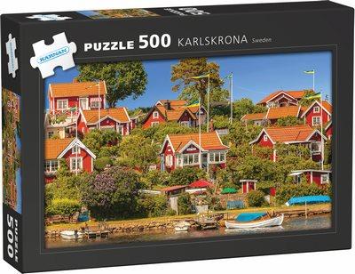 Pussel - Karlskrona 500 bitar
