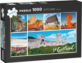 Gotland - pussel 1000 bitar