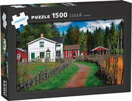 Luleå: 1500 bitars pussel