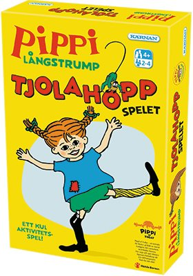 Pippi Långstrump - Tjolahopp-spelet