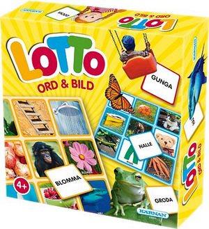 Lotto - Ord och bild
