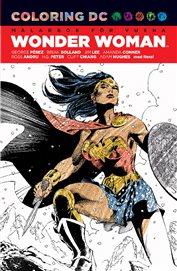Wonder Woman målarbok