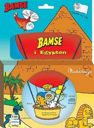 Bamse i Egypten - Bok med CD