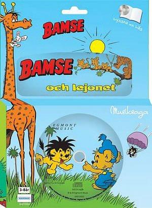 Bamse och lejonet - Bok med CD