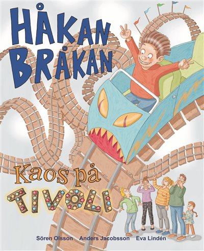 Håkan Bråkan kaos på tivoli