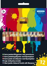 Träfärgpennor 12 styck