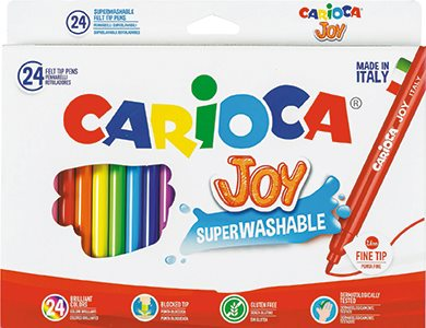 Carioca Fiberpennor 24 st