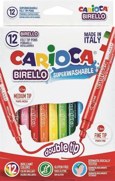 Carioca Dubbla fiberpennor
