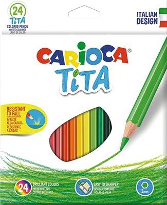 Carioca Färgpennor 24 st