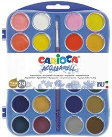 Carioca Vattenfärger 24 st