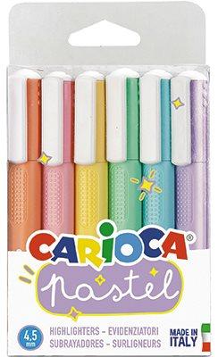 Carioca Överstrykningspennor pastell