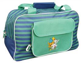Weekendbag med gulligt Bamsemotiv