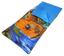 Sovsäck med Bamsemotiv