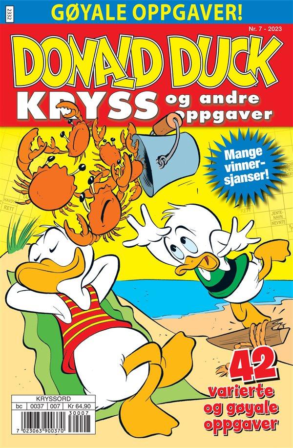Donald Duck Kryss